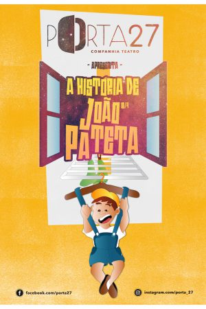 João PATETA Mini cartaz